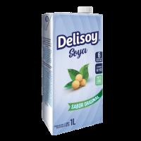 Delisoy UHT Natural Sin Lactosa