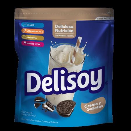 Delisoy Crema y Galletas