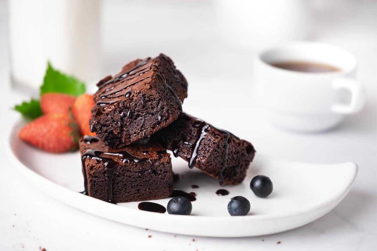 Receta Bizcocho Chocolatado con Delisoy Soya