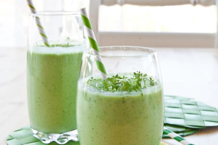 Receta Green smoothie Delisoy