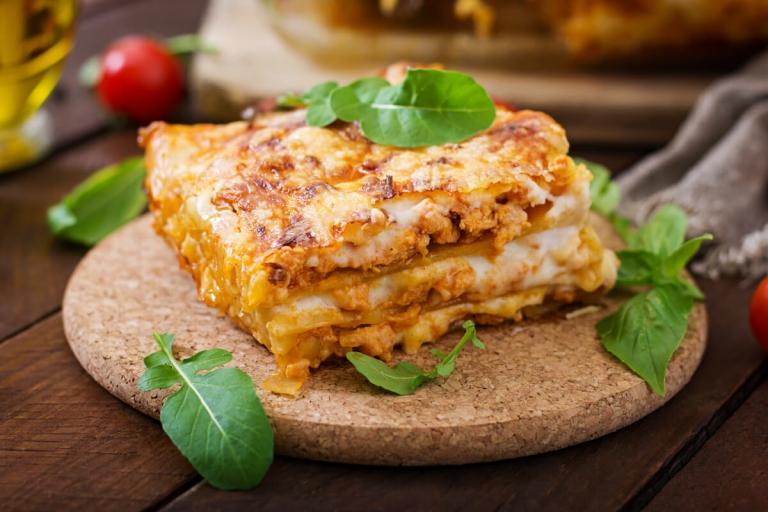Receta Lasagna con Delisoy Trocitos