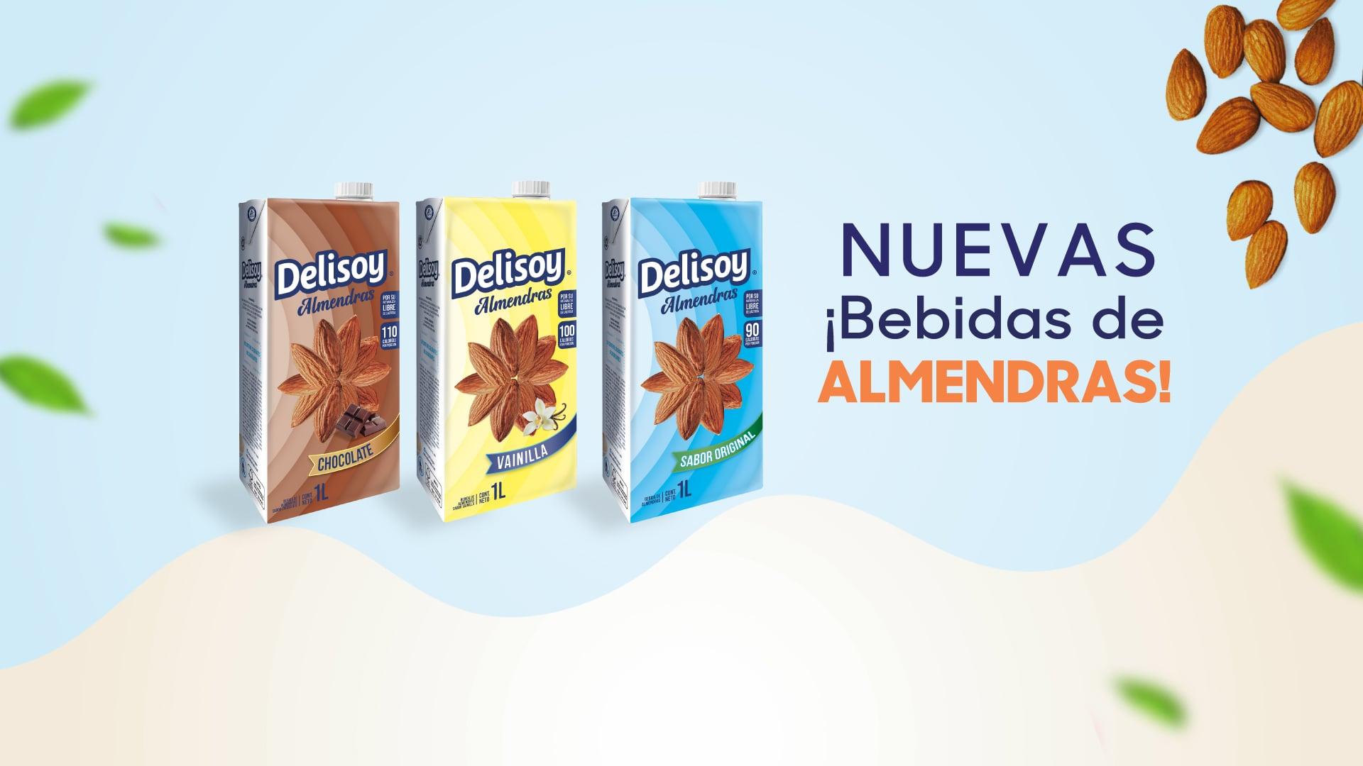 Delisoy Nuevas Bebidas de Almendras