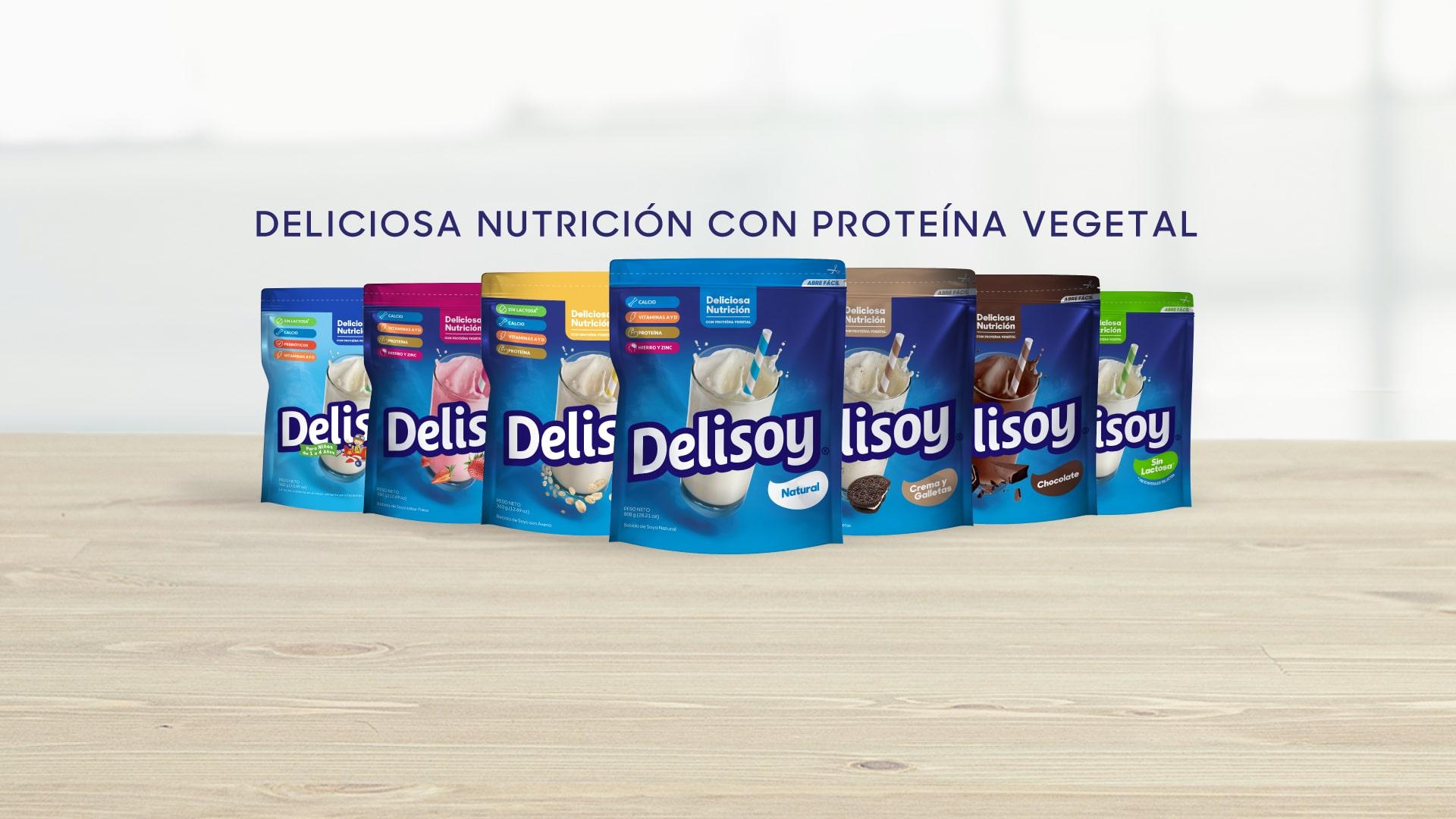 Deliciosa nutrición con proteína vegetal